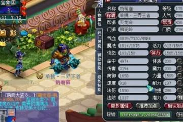 梦幻西游化圣狮驼岭展示武器伤害拉满真是如虎添翼